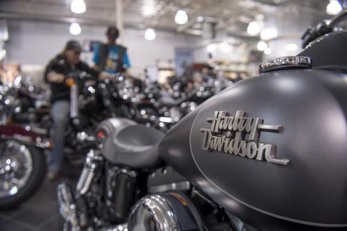 Mesin baru Harley Davidson