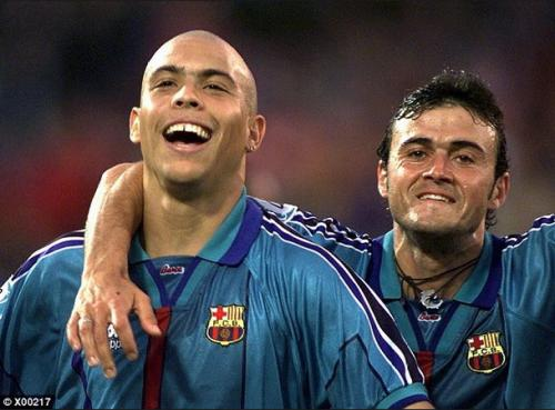Ronaldo dan Luis Enrique (Foto: Istimewa)