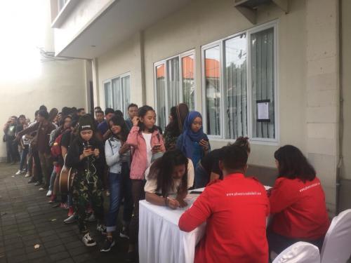 Audisi The Voice di Denpasar dibanjiri peserta
