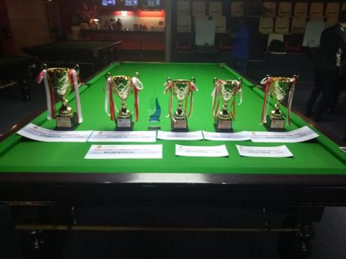 Trofi Singapura Snooker Open 2019 (Foto: Ist)