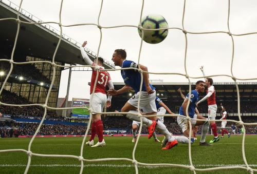 Everton vs Arsenal (Foto: Twitter Premier League)