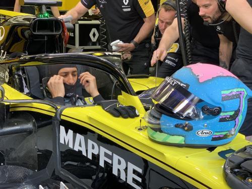 Daniel Ricciardo (Foto: Twitter/@RenaultF1Team)