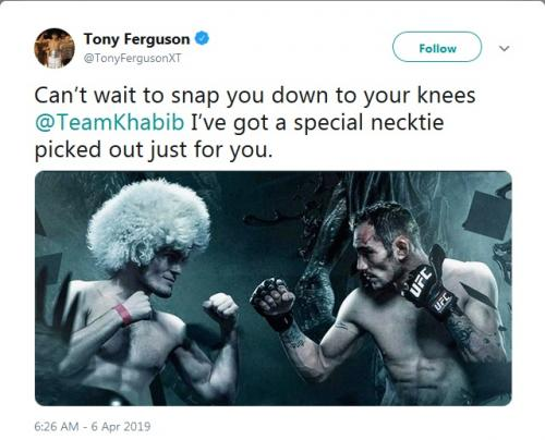 Tony Ferguson (Foto: Twitter/@TonyFergusonXT)
