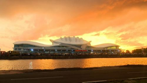 Jokowi resmikan pengembangan Bandara Tjilik Riwut Palangkaraya. (Foto : Biro Pers Sekretariat Presiden)