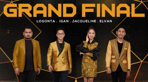Empat finalis Rising Star Indonesia