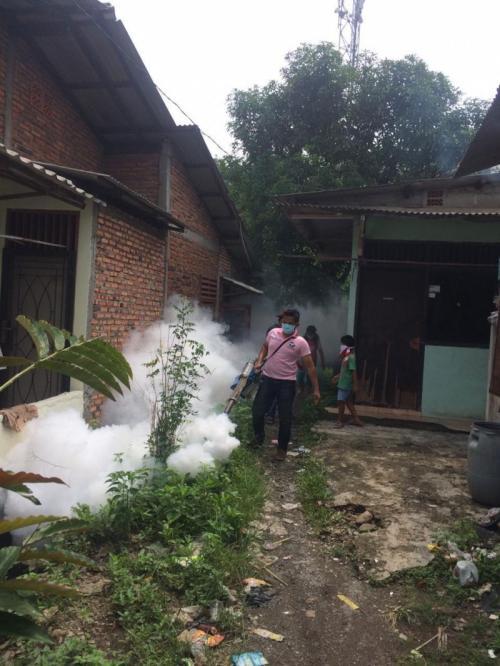 Fogging Perindo di Cakung (Foto: Dok Perindo)