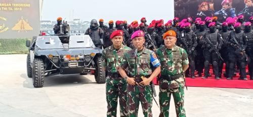 Latihan Satgultor TNI. (Foto: Muhamad Rizky/Okezone)