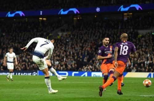 Son Heung-min mencetak gol tunggal kemenangan Tottenham Hotspur pekan lalu (Foto: UEFA)