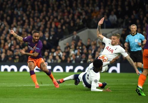 Pertandingan Tottenham Hotspur vs Manchester City