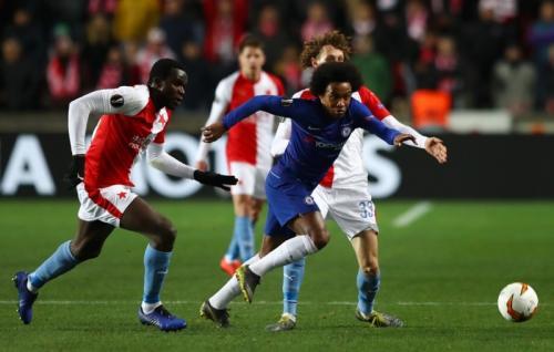 Slavia Praha vs Chelsea (Foto: UEFA)