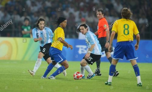 Ronaldinho dan Messi