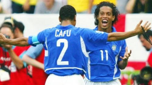 Ronaldinho dan Cafu