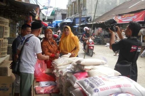 Bazar Perindo di Aceh