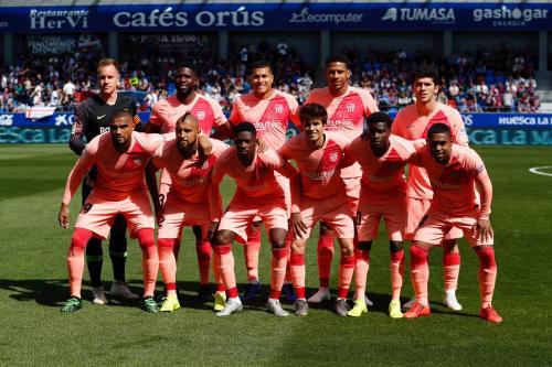 Huesca vs Barcelona (Foto: @FCBarcelona/Twitter)