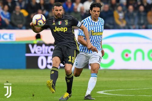 SPAL vs Juventus (Foto: Twitter Juventus)