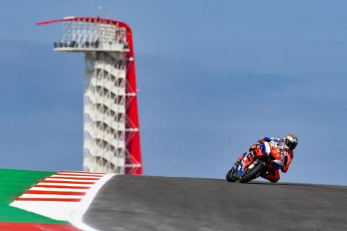 Jack Miller tampil pada sebuah balapan di MotoGP 2019