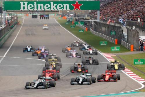 Formula 1 GP China 2019 (Foto: F1/Twitter)