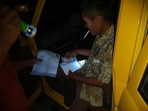 Polres Tapanuli Selatan geledah rumah Caleg Gerindra Terkait Dugaan Serangan Fajar (foto: Ist)
