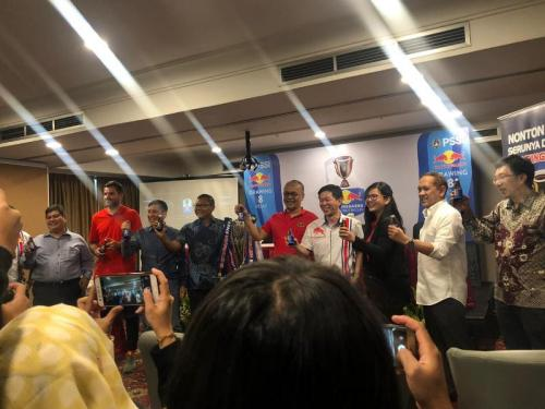 Drawing Babak 8 Besar Piala Indonesia 2018 (Foto: Djanti Virantika/Okezone)