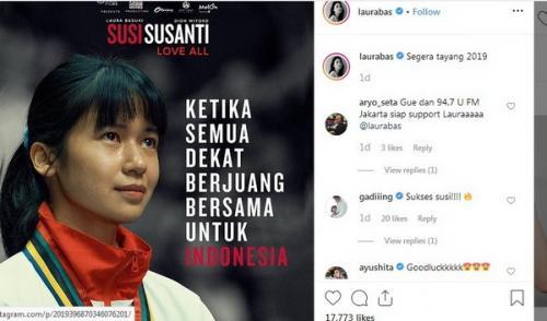 Laura Basuki sebagai Susi Susanti