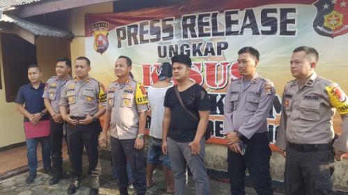 Pelaku Pembuangan Mayat Dalam Karung di Pandeglang, Banten Tertangkap (foto: Rasyid Ridho/Sindonews)