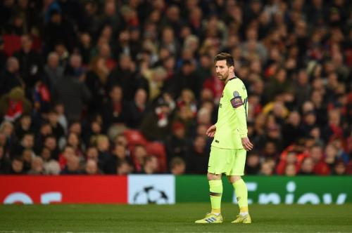 Aksi Lionel Messi saat di suatu pertandingan