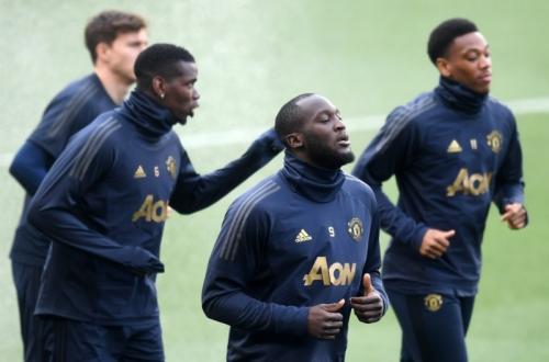 Sesi latihan Manchester United (Foto: Laman resmi UEFA)