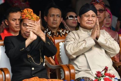 Jokowi dan Pranbowo