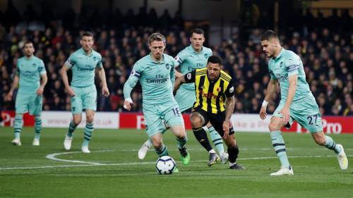 Watford vs Arsenal (Foto: Liga Inggris)