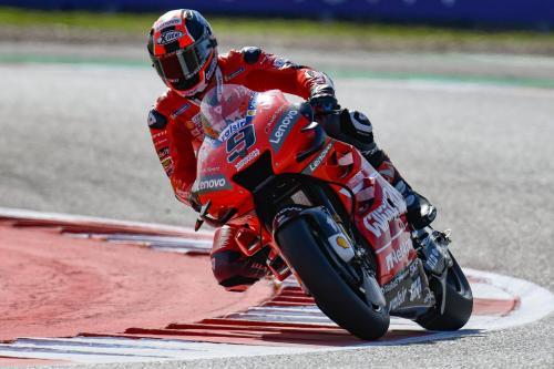 Danilo Petrucci mengaspal di Spanyol (Foto: MotoGP)