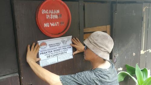 Kampung di Kota Malang Punya Cara Awasi Politik Uang Jelang Pemilu (foto: Avirista Midaada/Okezone)