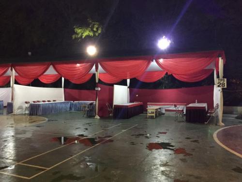 TPS 28 Jakarta Selatan Didirikan di Atas Lapangan Futsal dan Basket (Sarah H)