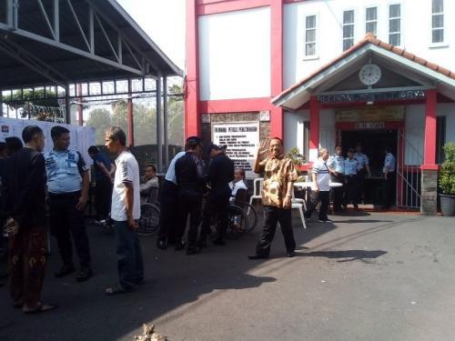 Lapas Sukamiskin, Bandung, Jawa Barat. (Foto: Dok Okezone)