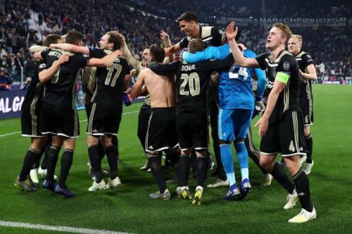 Para pemain Ajax Amsterdam
