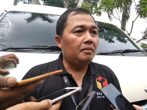 Ketua Bawaslu Kota Tangerang, Agus Muslim. (Foto : Anggun Tifani/Okezone)