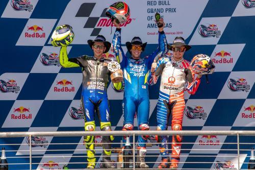 Peraih podium di MotoGP Amerika Serikat 2019