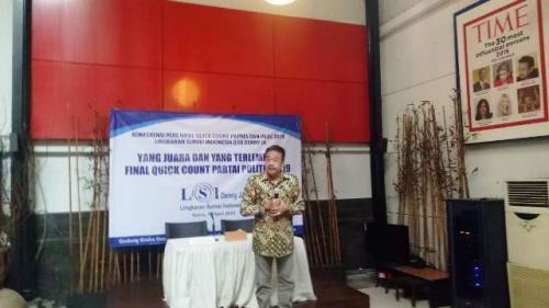 LSI Denny JA (Foto : Puteranegara Batubara/Okezone)