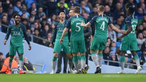 Para pemain Tottenham Hotspur
