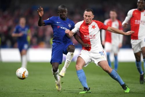 Chelsea vs Slavia Praha (Foto: UEFA)