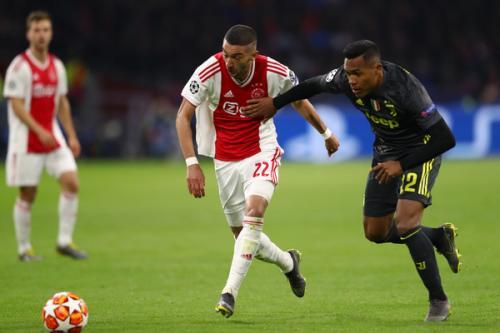 Penampilan Ziyech saat sedang membela Ajax