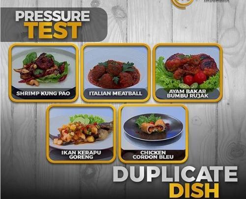 Dari keempat peserta, hasil masakan merekalah yang tidak memenuhi standar