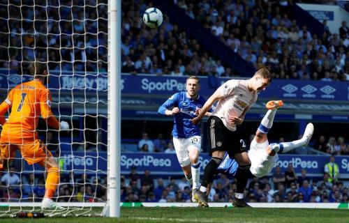 Everton vs Man United (Foto: Liga Inggris)