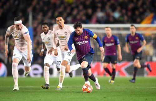 Barcelona vs Man United (Foto: UEFA)
