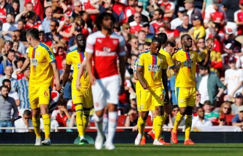 Palace pecundangi Arsenal di Stadion Emirates