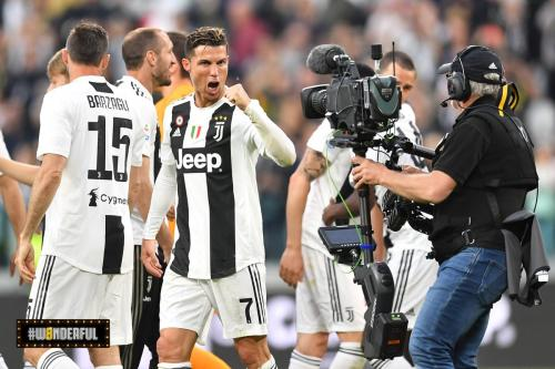 Cristiano Ronaldo selebrasi