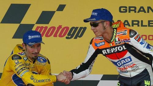 Max Biaggi dan Rossi