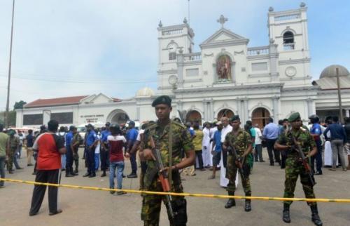 Bom Sri Lanka. (Foto: Ishara S Kodikara/AFP)
