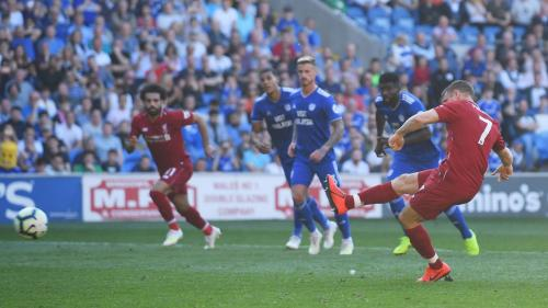 James Milner vs Cardiff City (Foto; Premierleague)