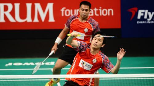 Markis Kido dan Hendra Setiawan saat masih menjadi satu tim