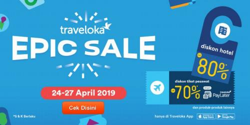 Bocoran Promo Traveloka Epic Sale Ada Diskon Besar Besaran Hingga 80 Okezone Travel